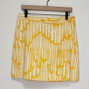 Beth Bowley A Line Patterned Skirt
